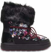 Crocs™ Lodgepoint Graphic Lace Boot Tropical/Black