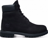 TIMBERLAND 6 In Premium Boot Men Black Nubuck