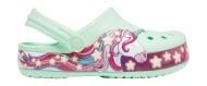 Crocs™ Funlab Unicorn Band Clog Kids Neo Mint