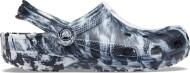 Crocs™ Classic Marbled Clog White/Black
