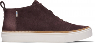 TOMS Pearlized Metallic Women's Riley Sneaker Forest Brown
