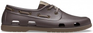 Crocs™ Classic Boat Shoe Mens Espresso/Walnut