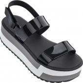 ZAXY Slash Plat Sandal Black