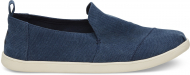 TOMS Washed Canvas Men's Deconstructed Alpargata Navy