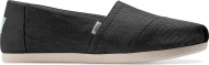 TOMS Eco Dyed Twill Women's Alpargata Black 10016284
