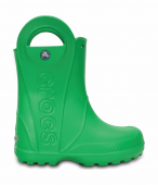 Crocs™ Kids' Handle It Rain Boot Grass Green
