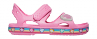 Crocs™ Fun Lab Rainbow Sandal Pink Lemonade