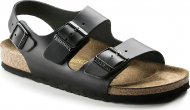 Birkenstock Milano Smooth Leather Black