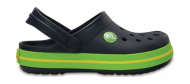 Crocs™ Kids' Crocband Clog Navy/Volt Green