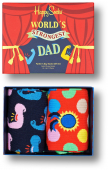 Happy Socks 2-Pack Father´s Days Gift Set Multi 0200