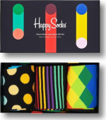 Happy Socks 3-Pack Classic Multi-Color Socks Gift Set Multi 9300
